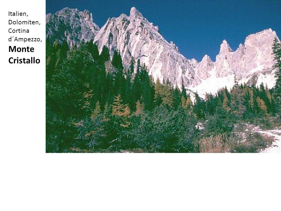 Italien, Dolomiten, Cortina d´Ampezzo, Monte Cristallo