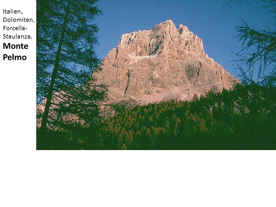 Italien, Dolomiten, Forcella- Staulanza, Monte Pelmo