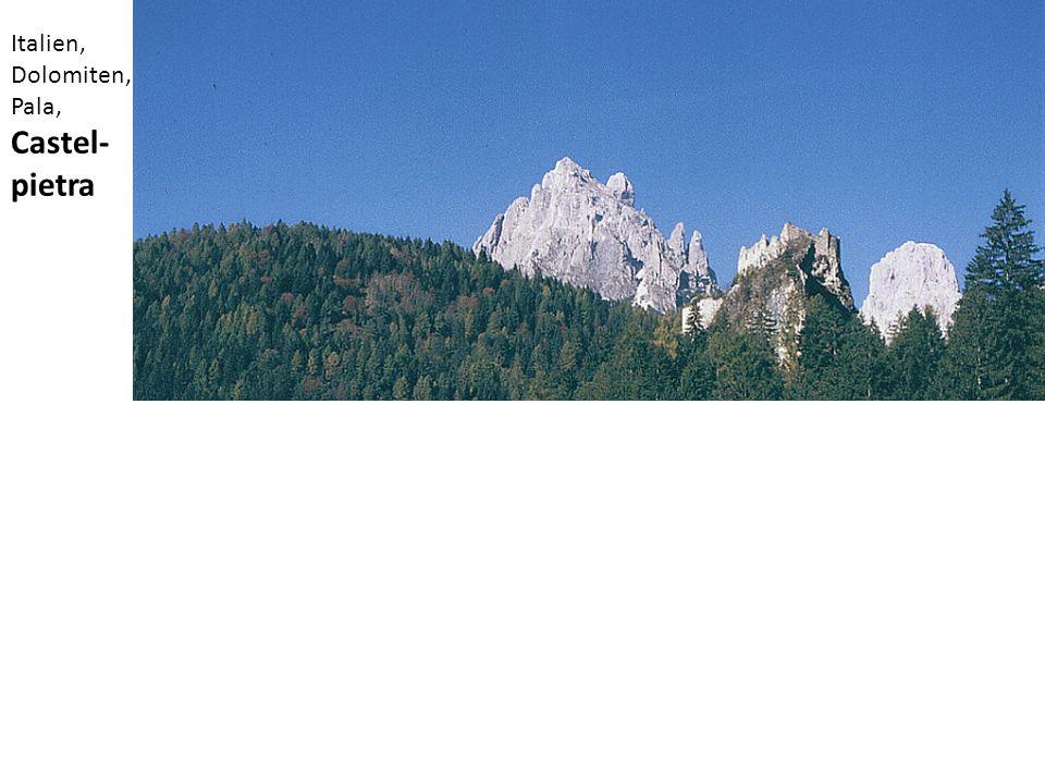 Italien, Dolomiten, Pala, Castel- pietra