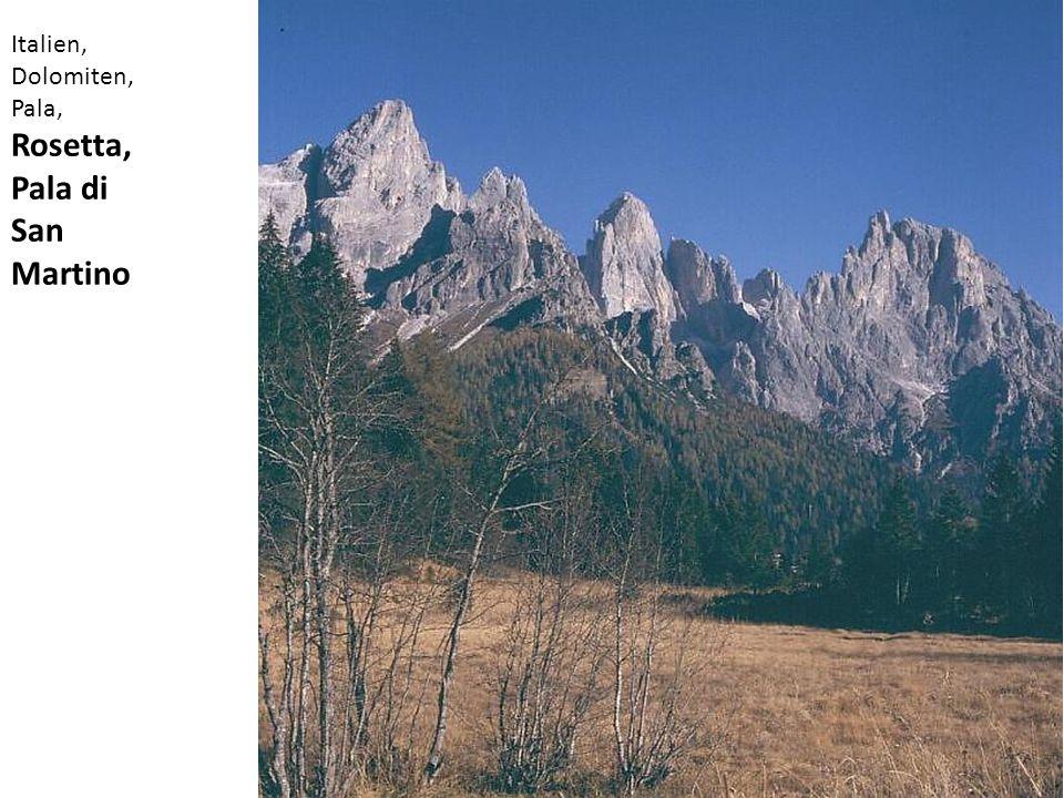 Italien, Dolomiten, Pala, Rosetta, Pala di San Martino
