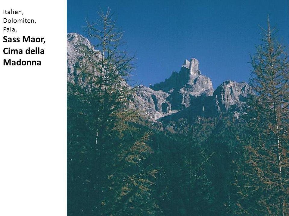 Italien, Dolomiten, Pala, Sass Maor, Cima della Madonna