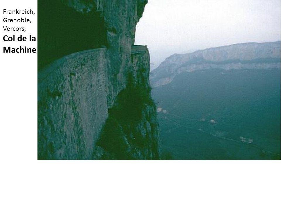 Frankreich, Grenoble, Vercors, Col de la Machine