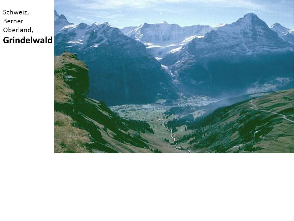 Schweiz, Berner Oberland, Grindelwald