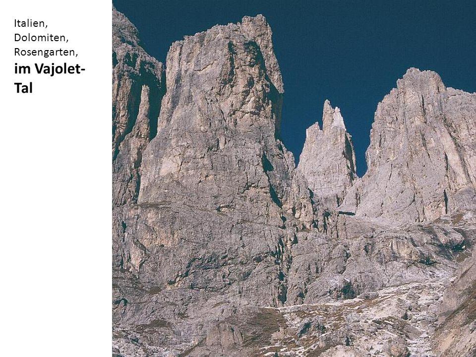 Italien, Dolomiten, Rosengarten, Vajolettürme