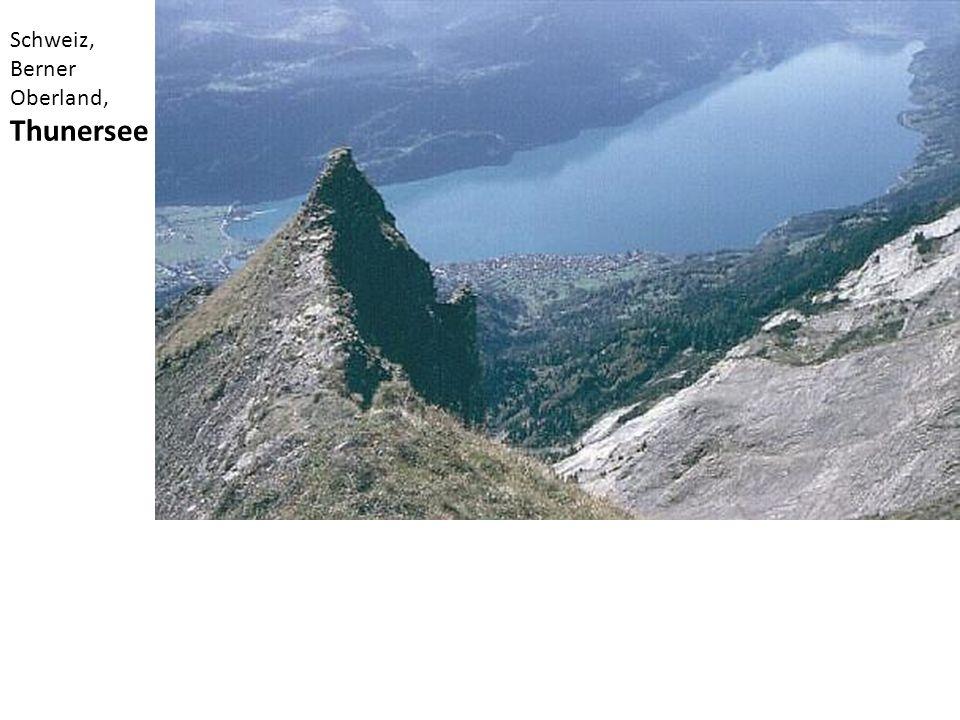 Schweiz, Berner Oberland, Thunersee