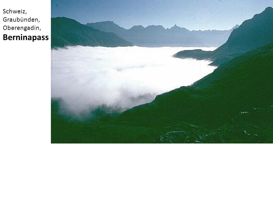 Schweiz, Graubünden, Oberengadin, Berninapass