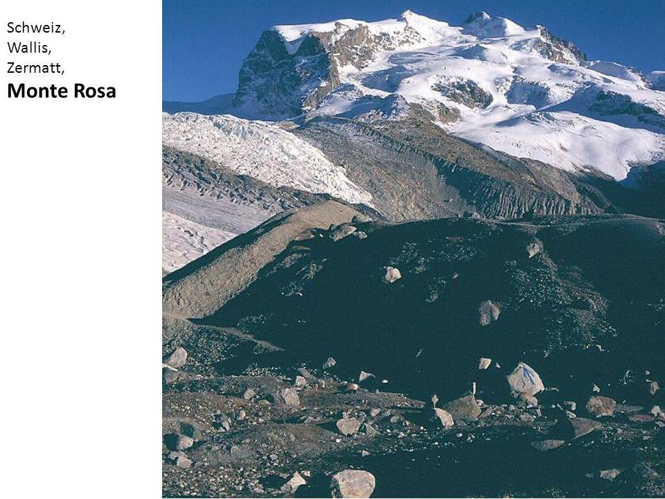 Schweiz, Wallis, Zermatt, Monte Rosa
