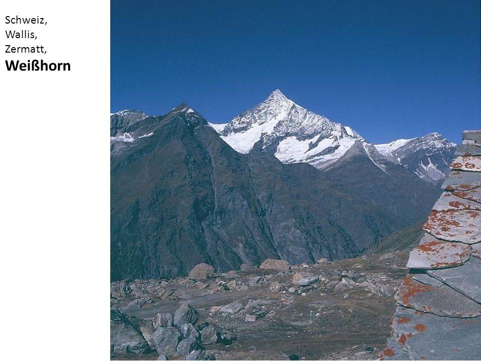 Schweiz, Wallis, Zermatt, Weißhorn