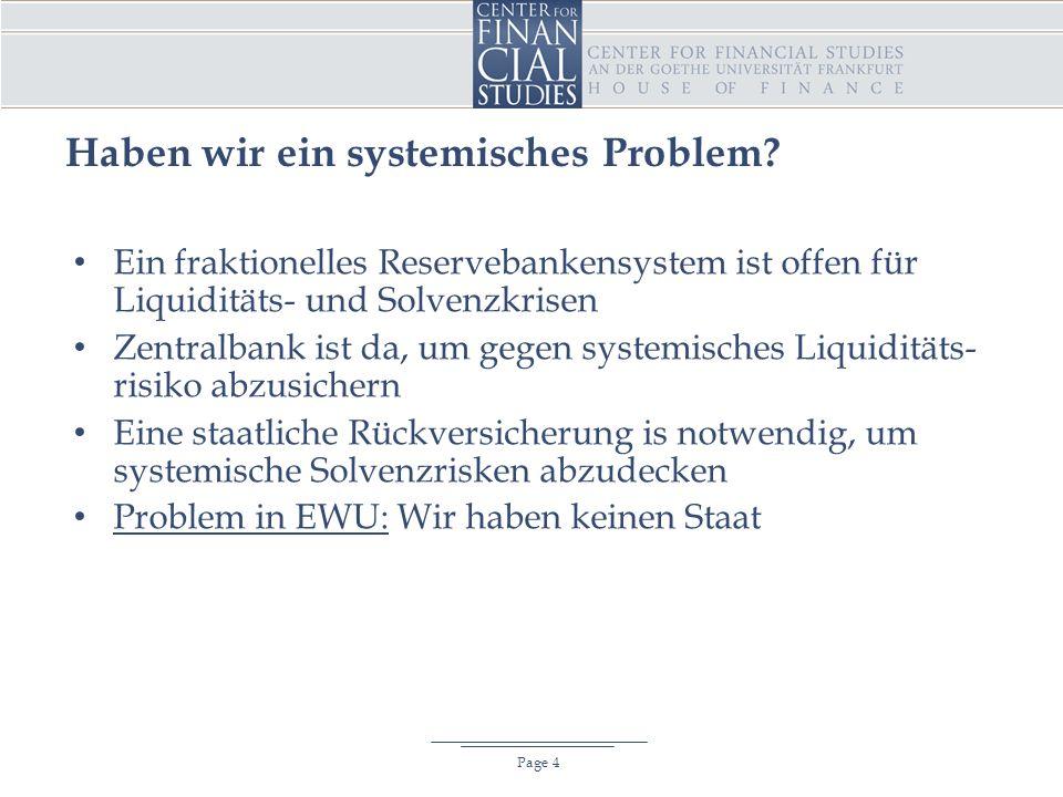 Haben wir ein systemisches Problem.