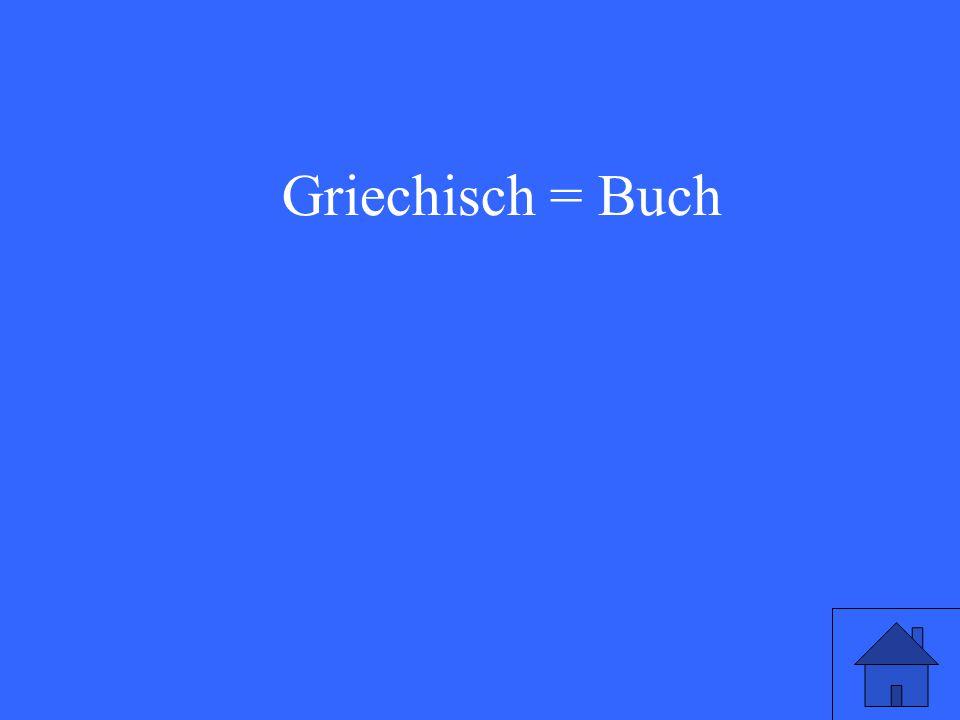 Griechisch = Buch