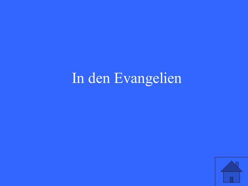 In den Evangelien
