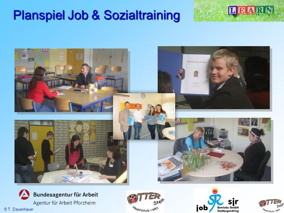 Planspiel Job & Sozialtraining © T. Dauenhauer