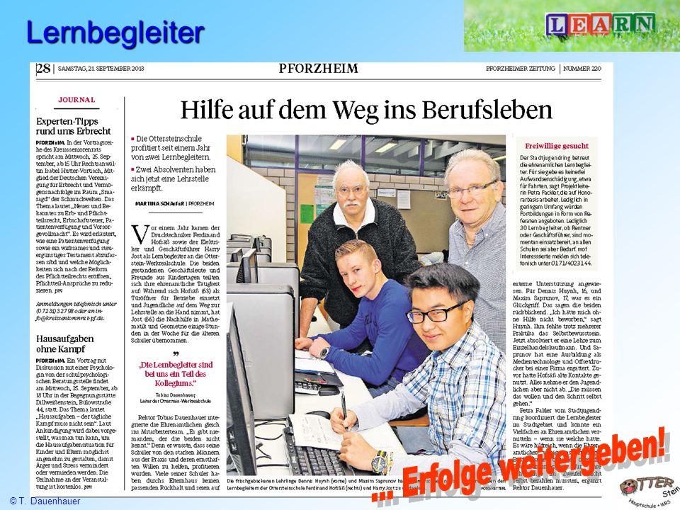 100 % Aufstieg 100% Zukunft 100% für Pforzheim @ www.ottersteinschule.de … mehr lernen, mehr leisten, mehr erreichen.