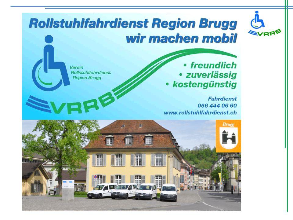 Geschichte: Der Verein Behindertenbus Region Brugg wurde 1986 gegründet.