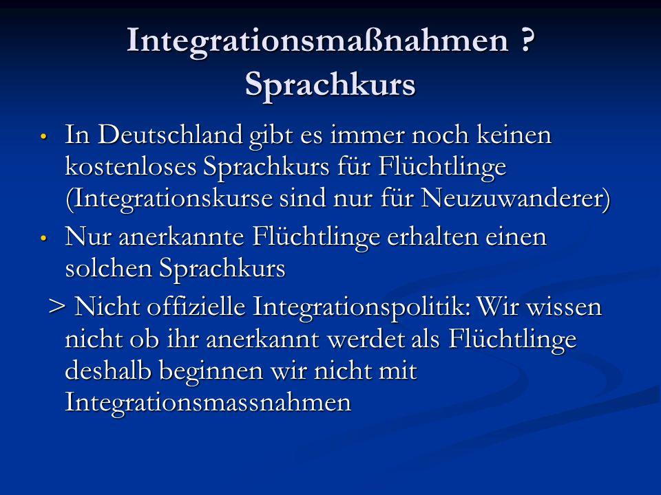 Integrationsmaßnahmen .