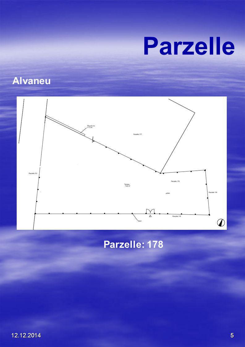 12.12.20145 Parzelle Alvaneu Parzelle: 178