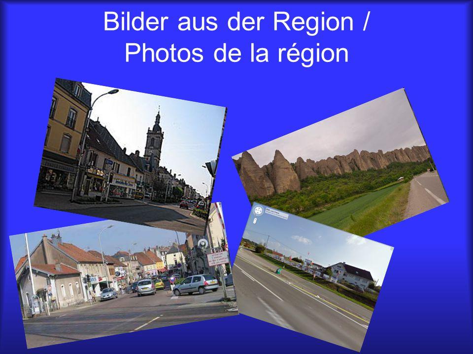 Einwohner, Fläche und mehr / Population, superficie et plus RÜSSELSHEIM 60.000 Einwohner 58,3 km² groß Wappen: LURE 8.263 Einwohner 24,31 km² groß Wappen: Ca.