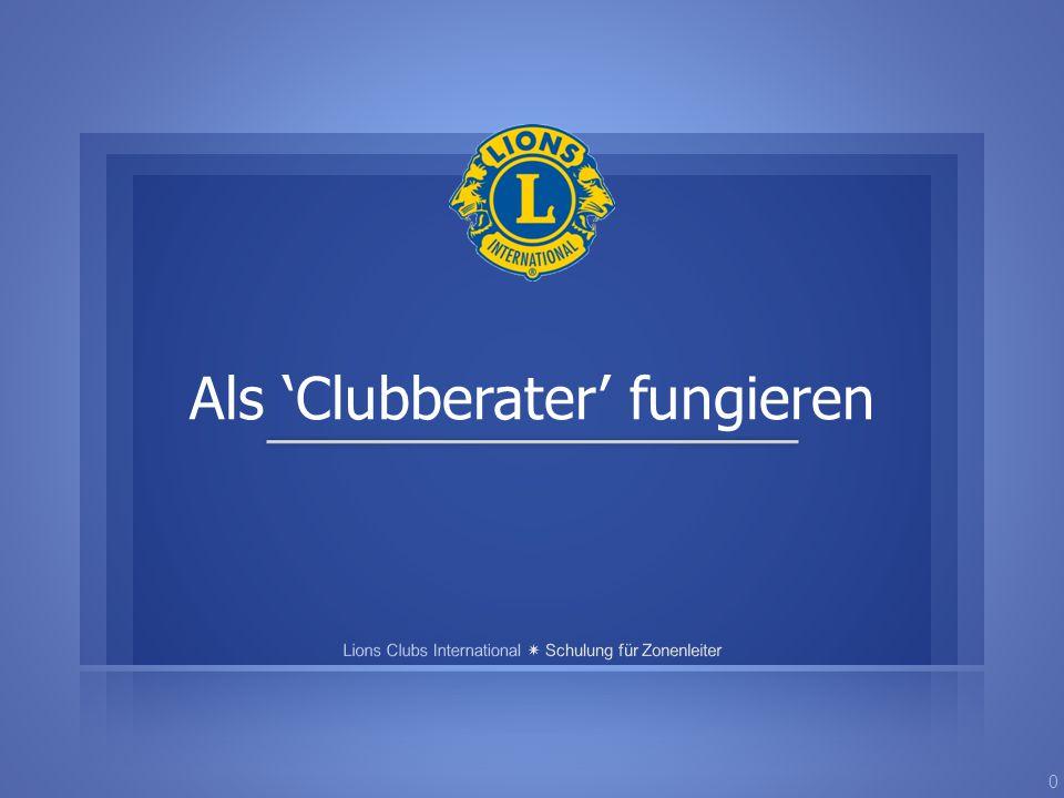 Als 'Clubberater' fungieren 0