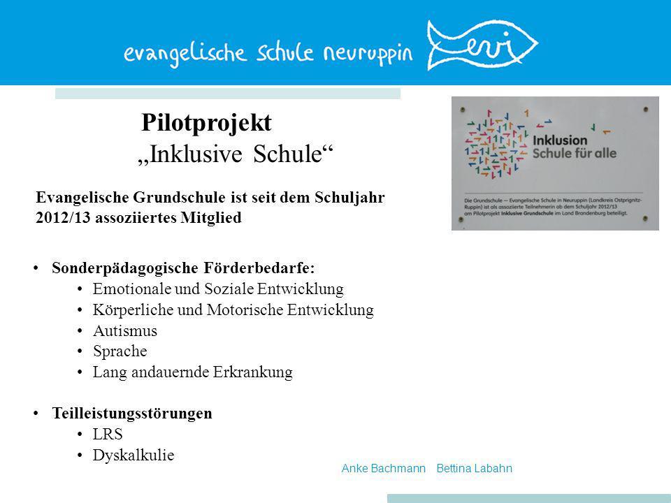 """Pilotprojekt """"Inklusive Schule"""" Sonderpädagogische Förderbedarfe: Emotionale und Soziale Entwicklung Körperliche und Motorische Entwicklung Autismus S"""