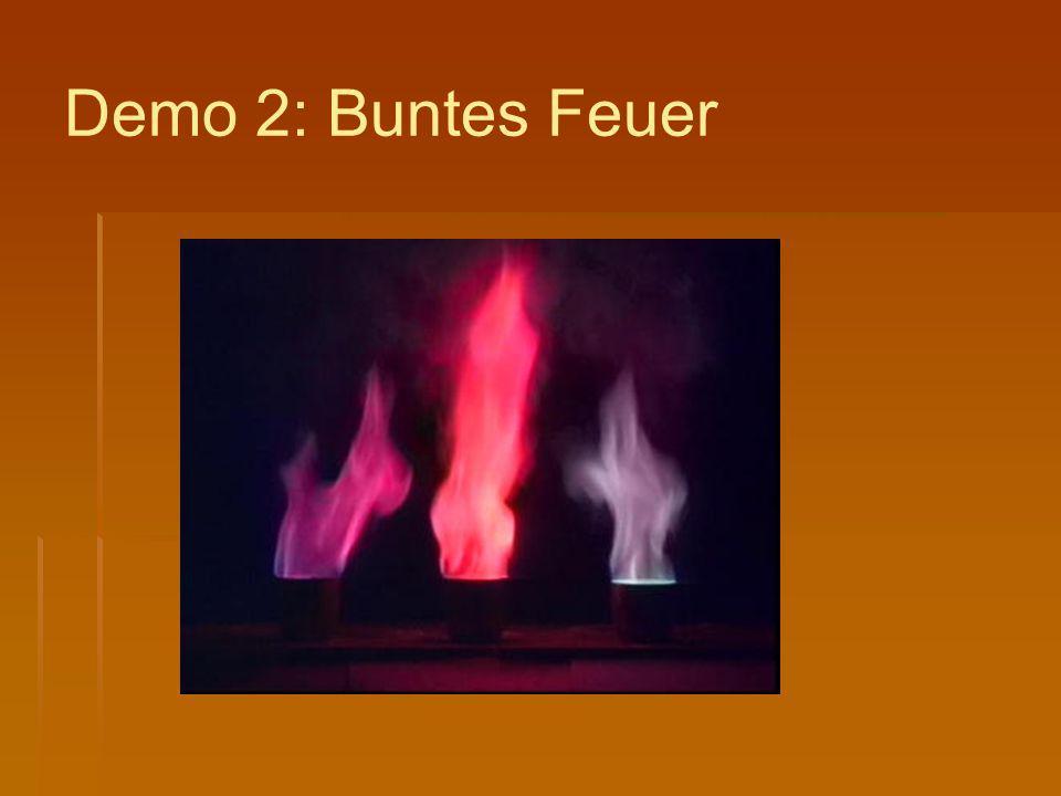 Demo 2: Buntes Feuer