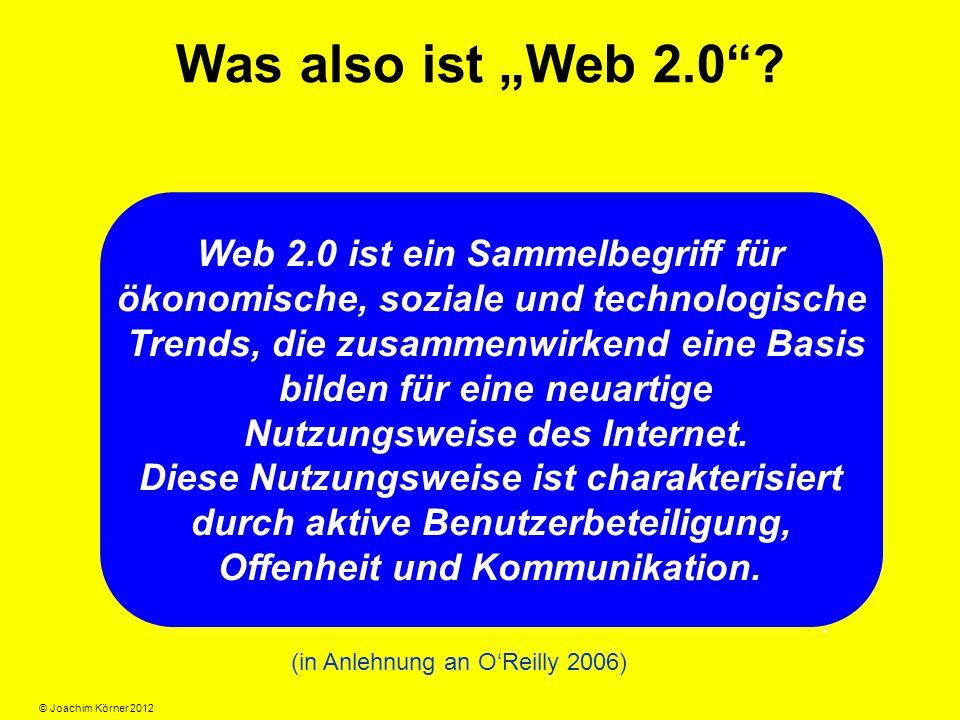 """Was also ist """"Web 2.0 ."""