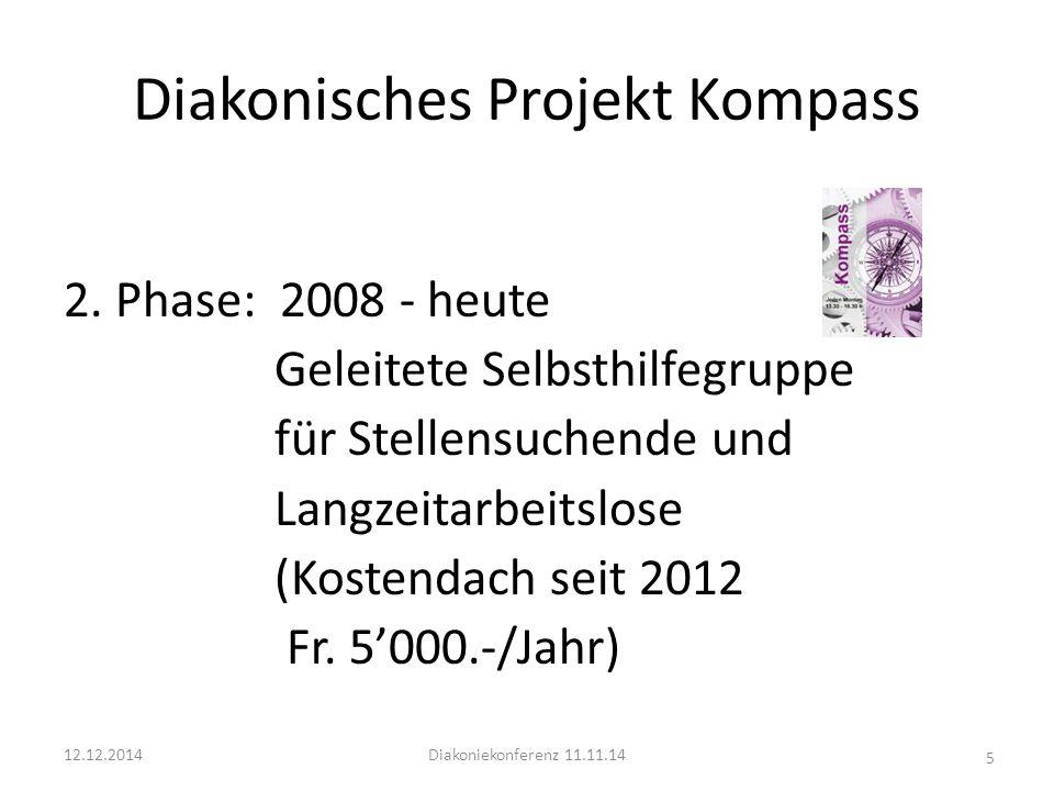 Diakonisches Projekt Kompass 2.