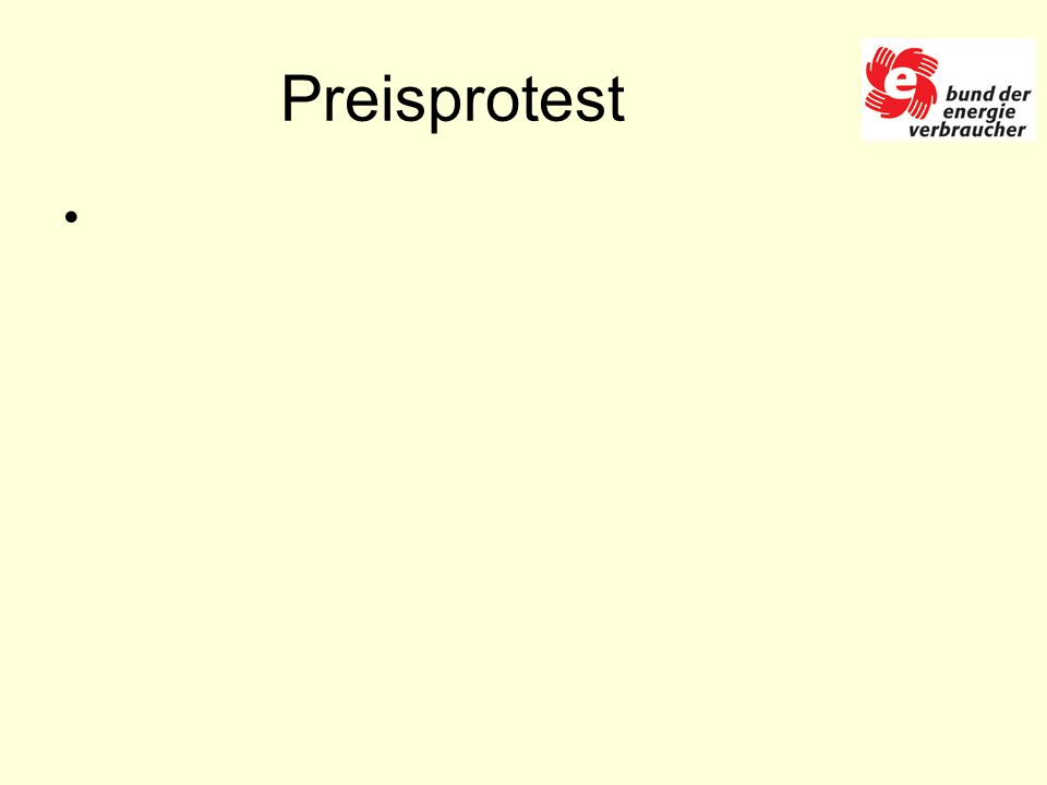 Preisprotest