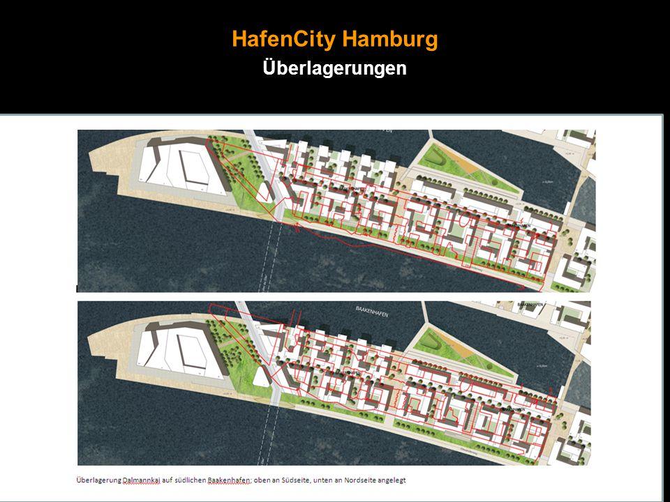 HafenCity Hamburg Überlagerungen