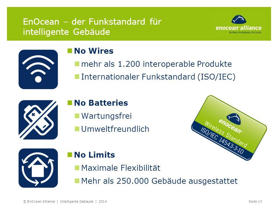No Wires mehr als 1.200 interoperable Produkte Internationaler Funkstandard (ISO/IEC) No Batteries Wartungsfrei Umweltfreundlich No Limits Maximale Fl