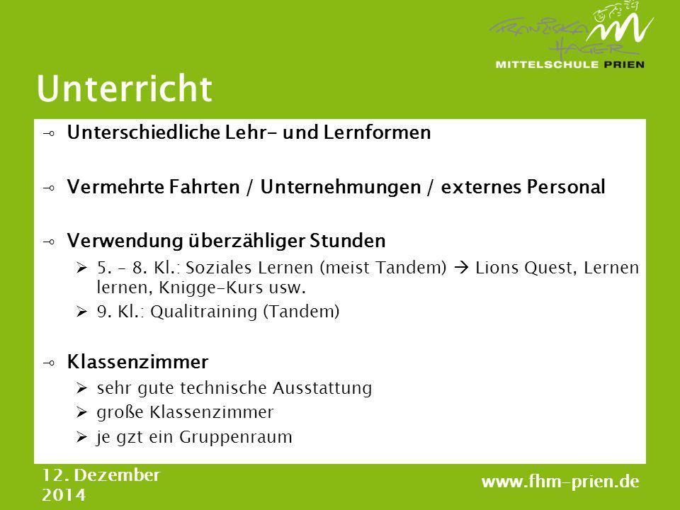 Unterricht ⊸Unterschiedliche Lehr- und Lernformen ⊸Vermehrte Fahrten / Unternehmungen / externes Personal ⊸Verwendung überzähliger Stunden  5. – 8. K