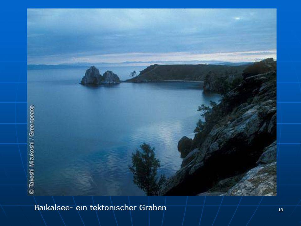 19 Baikalsee- ein tektonischer Graben