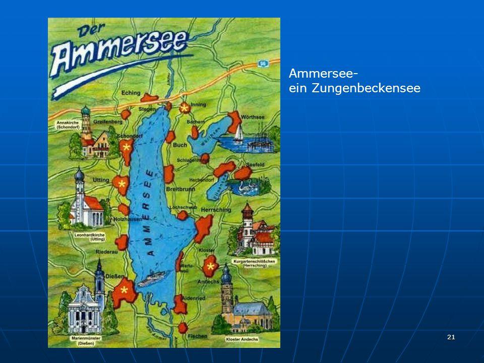 21 Ammersee- ein Zungenbeckensee