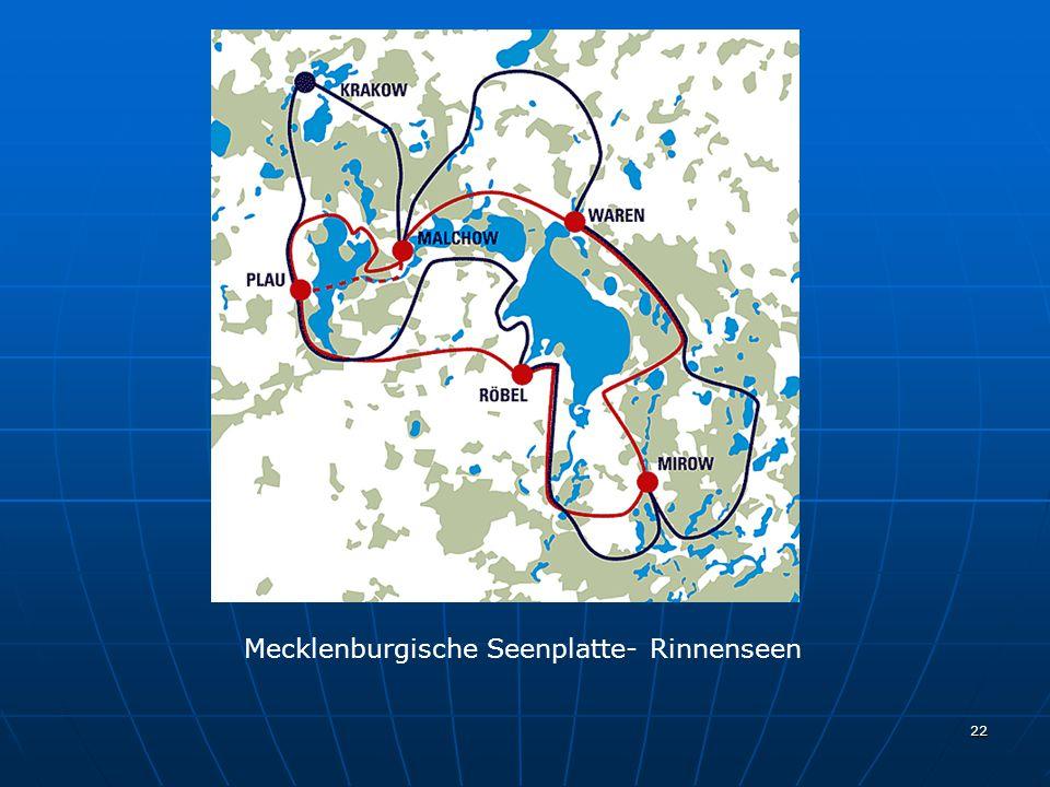 22 Mecklenburgische Seenplatte- Rinnenseen