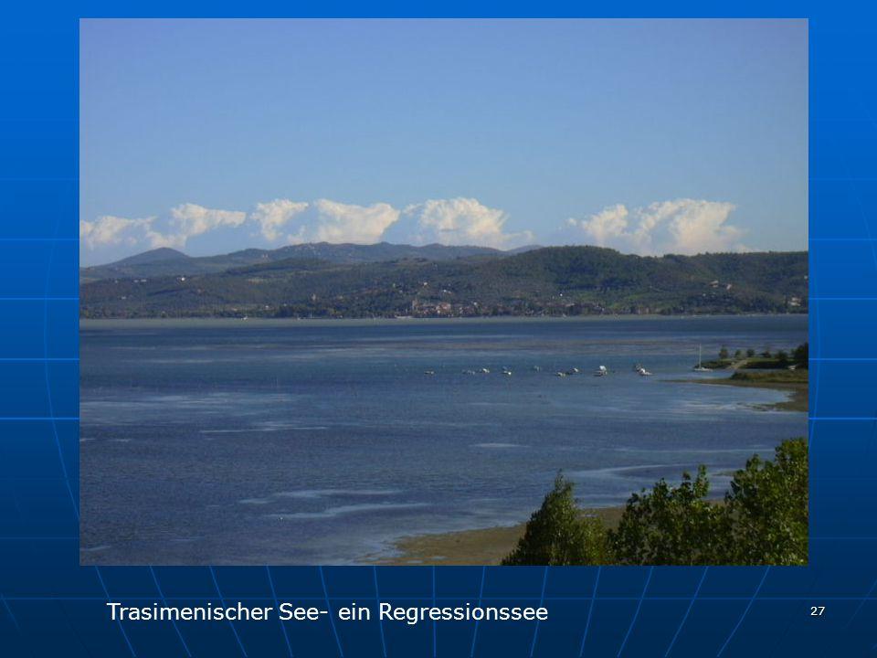 27 Trasimenischer See- ein Regressionssee