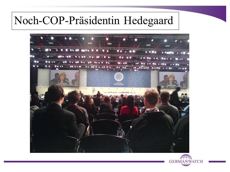 Noch-COP-Präsidentin Hedegaard