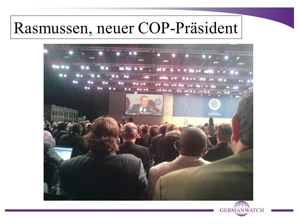 Rasmussen, neuer COP-Präsident