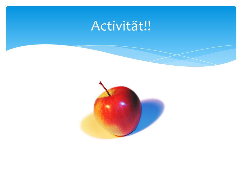 Activität!!