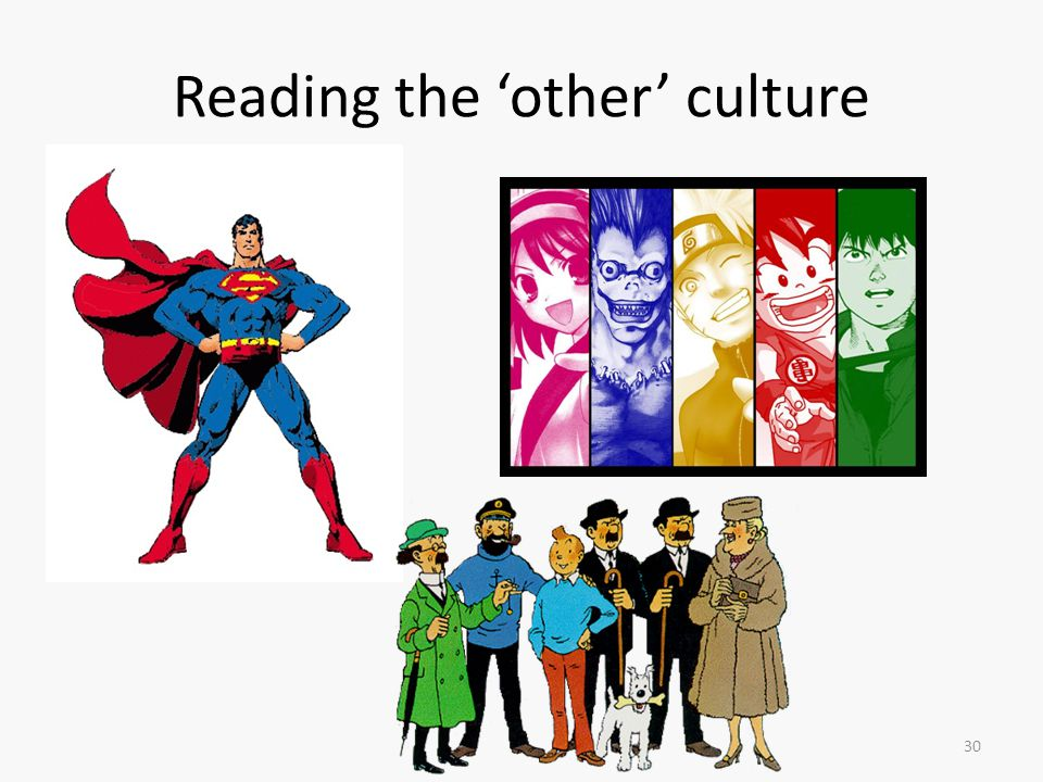 30 Reading the 'other' culture