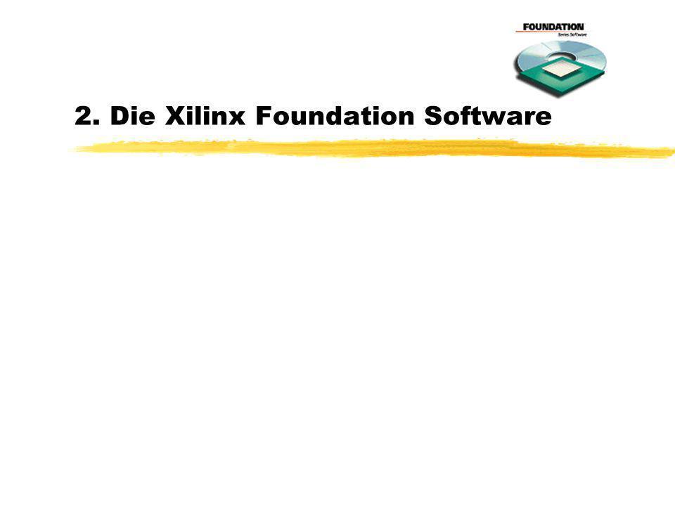 2. Die Xilinx Foundation Software