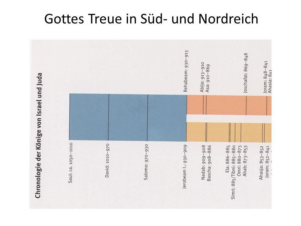 Gottes Treue in Süd- und Nordreich