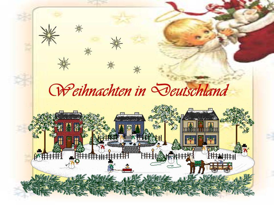 """Weihnacht heißt eigentlich """"Heilige Nacht .Gemeint ist die Nacht vom 24."""