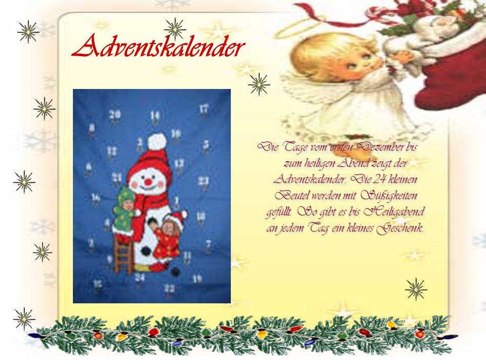 Der Weihnachtsmann Der Weihnachtsmann tauchte als Wort das erste mal im 18.