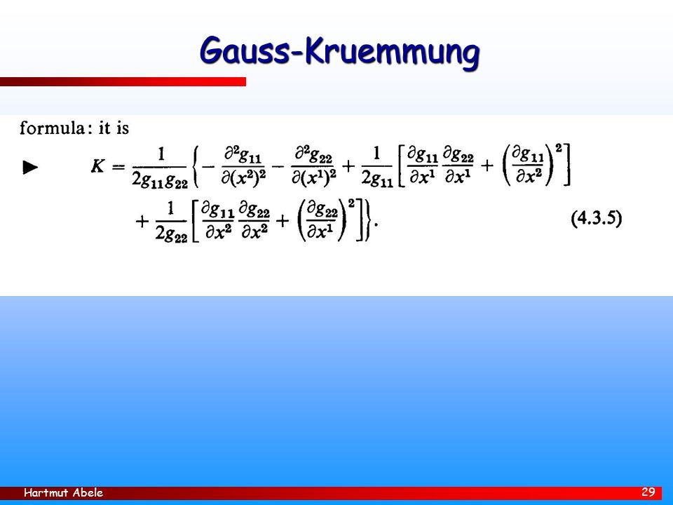 Hartmut Abele 29 Gauss-Kruemmung