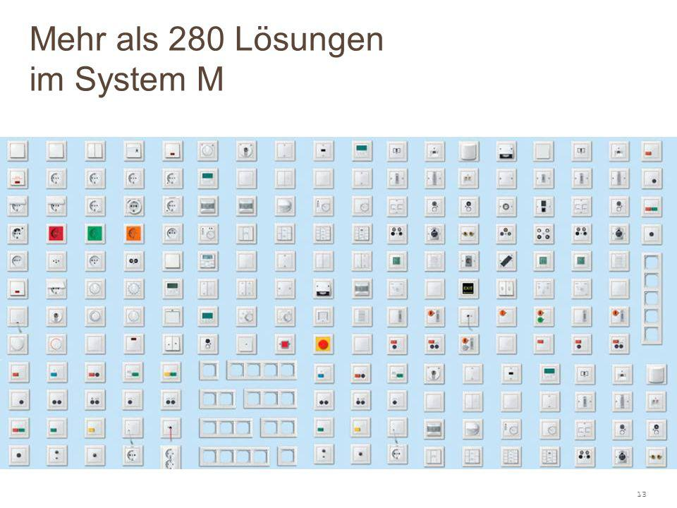13 Mehr als 280 Lösungen im System M