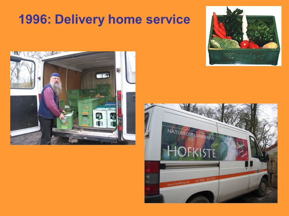 1996: Delivery home service