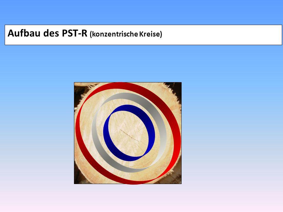 Aufbau des PST-R (konzentrische Kreise)