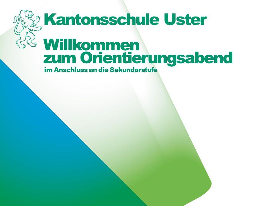 Kantonsschule Uster Stundentafel der Oberstufe 12 1.