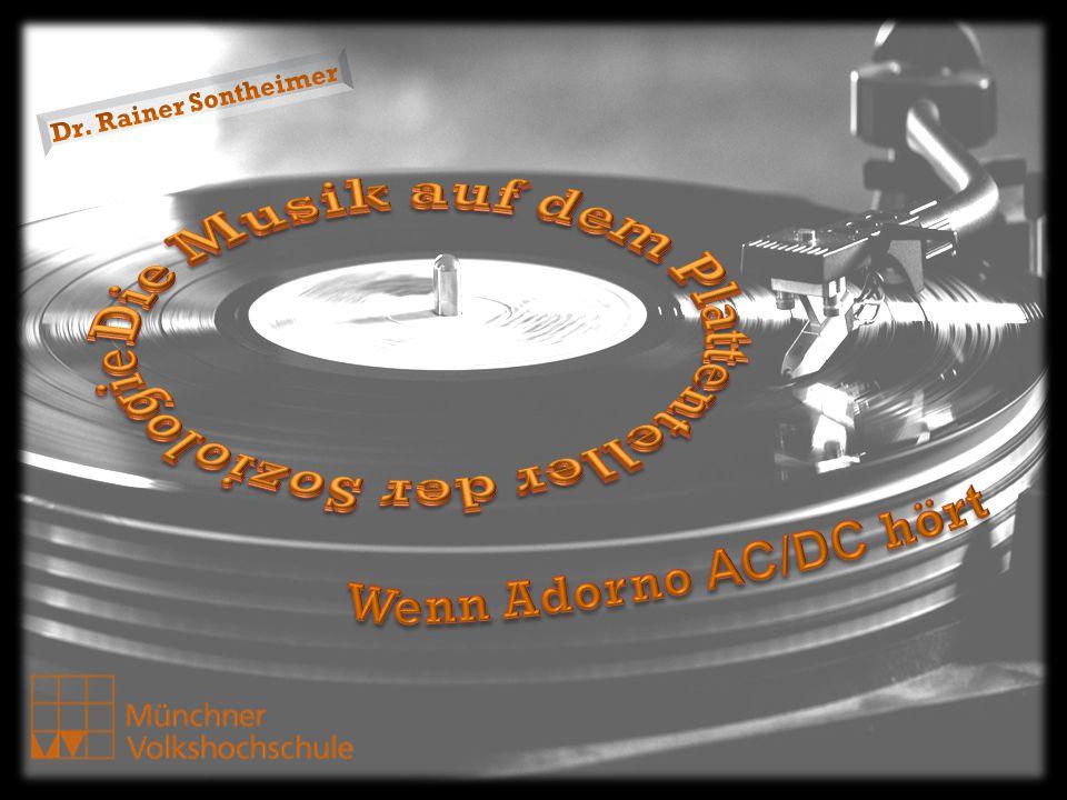 Kursprogramm: 1.Einführung: Musik als soziales Ereignis – Was machen Musiksoziologen.