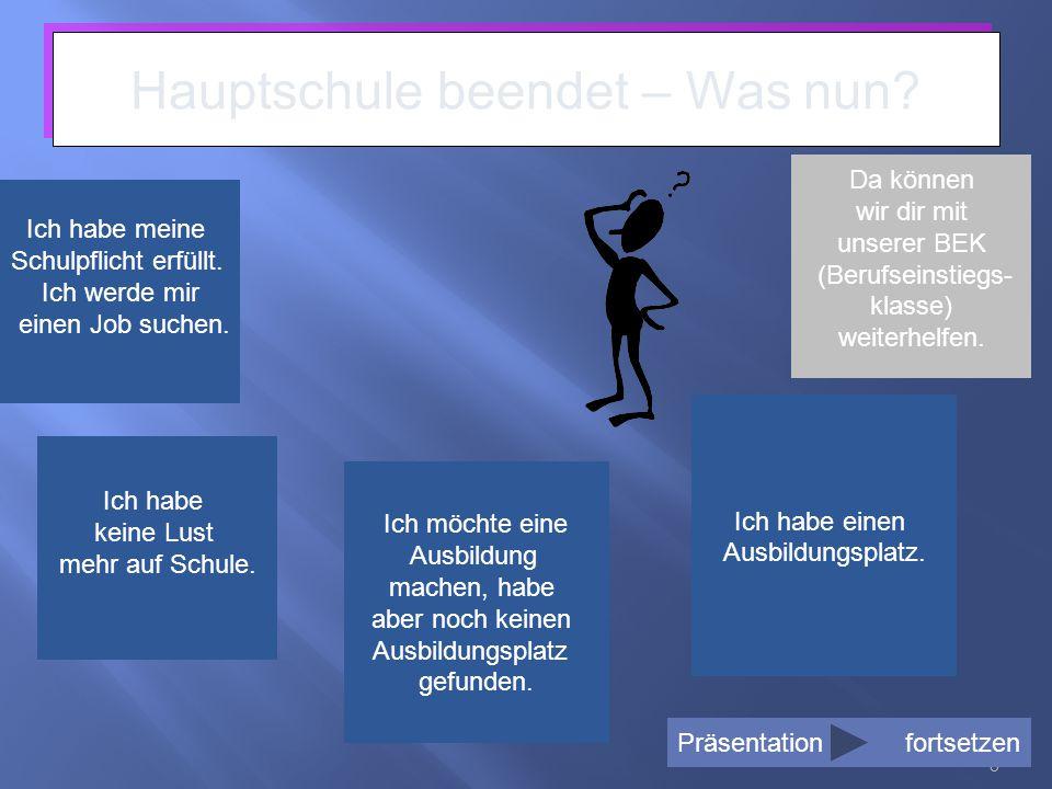 9 Und was bietet mir die BBS Helmstedt nun für meine Situation.