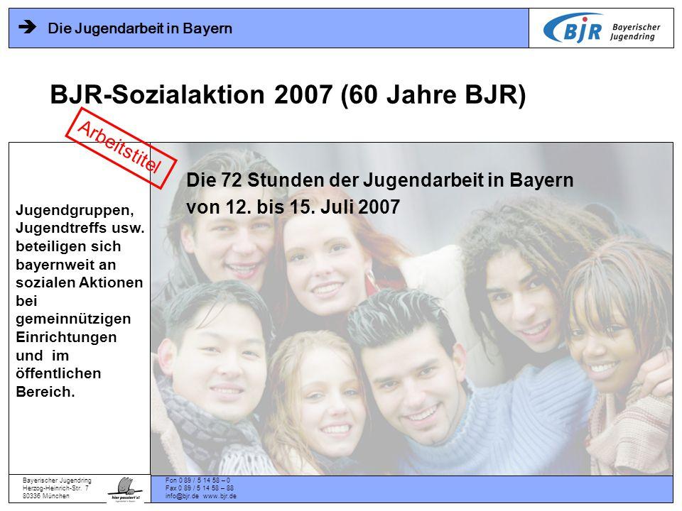 Bayerischer Jugendring Herzog-Heinrich-Str.
